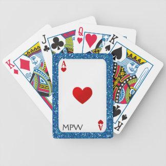 Aces Monogram - Playing Cards - SRF