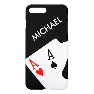 Aces with Name iPhone 8 Plus/7 Plus Case