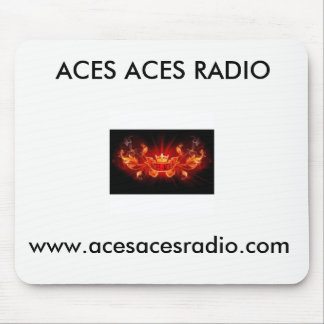 AcesAcesRadio Mouse Pad