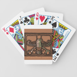Achaemenid Empire by AncientAgesPrints Bicycle Playing Cards