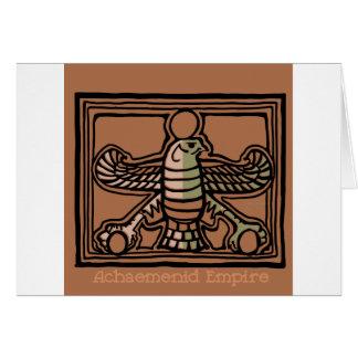 Achaemenid Empire by AncientAgesPrints Card