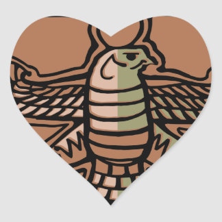 Achaemenid Empire by AncientAgesPrints Heart Sticker