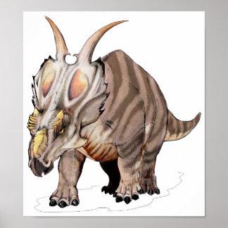Achelousaurus Poster