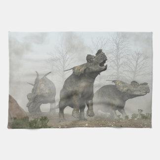 Achelousauruses Kitchen Towel