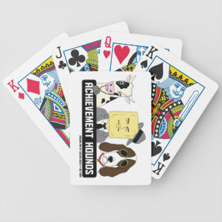 Achievement Hounds Playing Cards