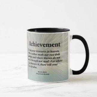 Achievement Matthew 6:20-21 Mug