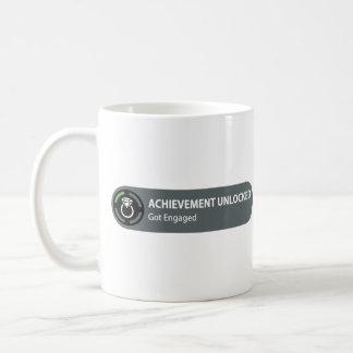 Achievement Unlocked - Got Engaged Mugs