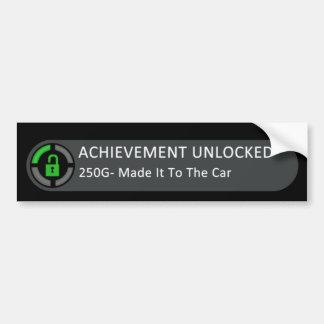 Achievement Unlocked Made It To The Car Bumper Sticker