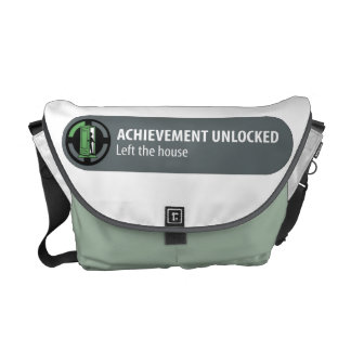 Achievement Unlocked Messenger Bag