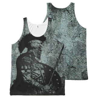 Achilles All-Over-Print Tank Top