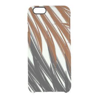Achromatic Jungle Clear iPhone 6/6S Case