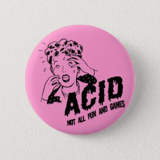 Acid 2 Inch Round Button
