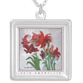 Acid Amaryllis Necklace
