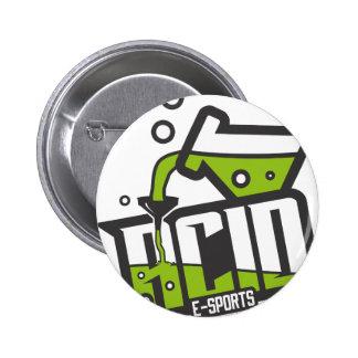 ACID E-Sports 2 Inch Round Button