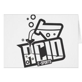 ACID E-SPORTS RGB CARD