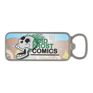 Acid Frost Comics Skull Magnetic Bottle Opener