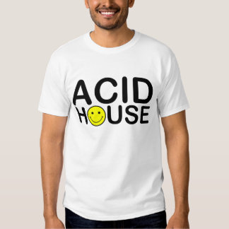 acid house oldskool style smiley face t shirt
