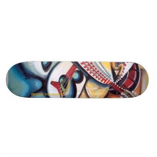 Acid Jazz by: Albert Riddle Skate Boards
