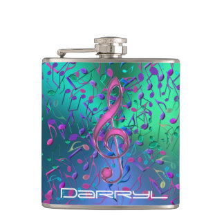 Acid Jazz Psychedelic Music Flask