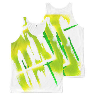 Acid Spring Colors All-Over-Print Tank Top