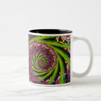 Acid Springtime Two-Tone Coffee Mug