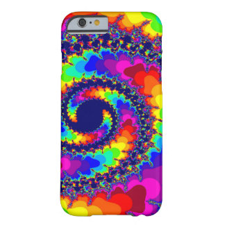 Acid Trip Rainbow Spiral Barely There iPhone 6 Case