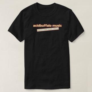acidbuffalo music - music for mass media tee