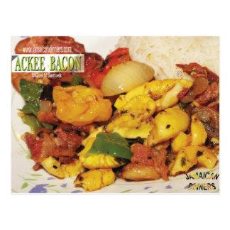 Ackee Bacon Postcard