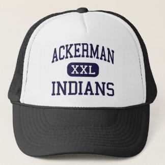 Ackerman - Indians - High - Ackerman Mississippi Trucker Hat