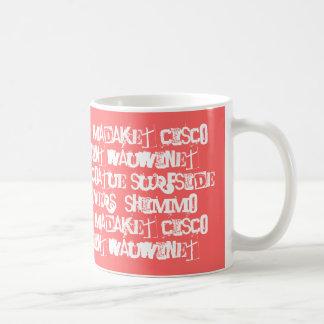 ACKnowledge Nantucket Places Classic White Coffee Mug