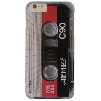 ACME Audio Cassette Tape MS 800 C90 Barely There iPhone 6 Plus Case
