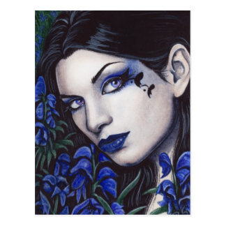 Aconitum Pretty Poisons Postcard