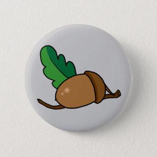 Acorn 2 Inch Round Button