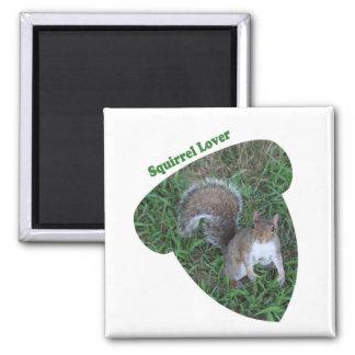 Acorn Adult Squirrel Lover Magnet