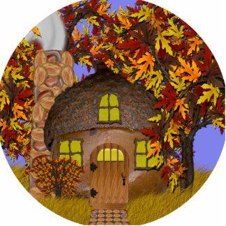 Acorn Faery Cottage Photo Sculpture