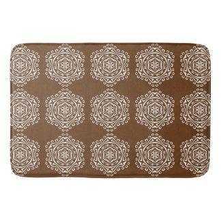 Acorn Mandala Bath Mat