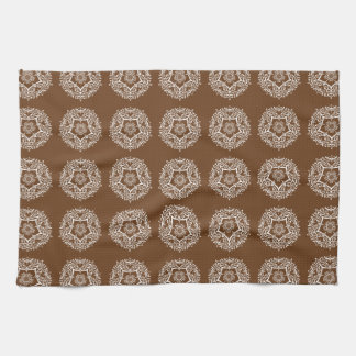 Acorn Mandala Kitchen Towel