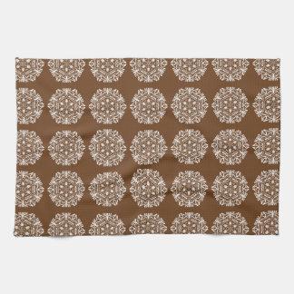 Acorn Mandala Towel