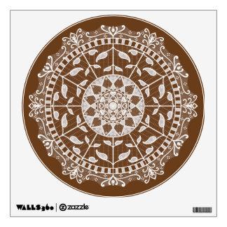 Acorn Mandala Wall Sticker