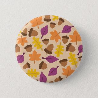Acorn Standard, 2¼ Inch Round Button