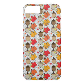 Acorns and leaves VII iPhone 7 Case