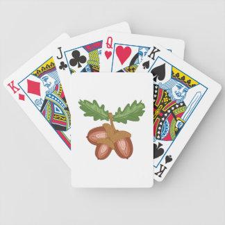 Acorns Poker Deck