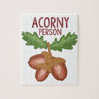 Acorny Person Jigsaw Puzzle