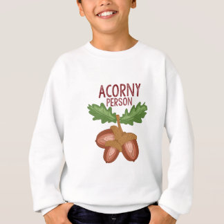 Acorny Person Sweatshirt