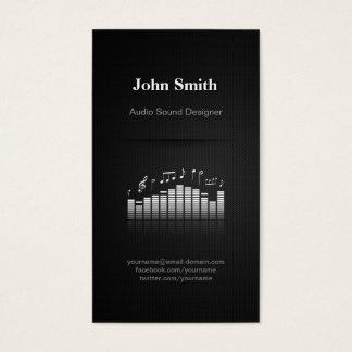 Acoustic Audio Sound Designer Engineer Director Business Card
