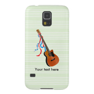 Acoustic Bass Guitar American Music Case For Galaxy S5