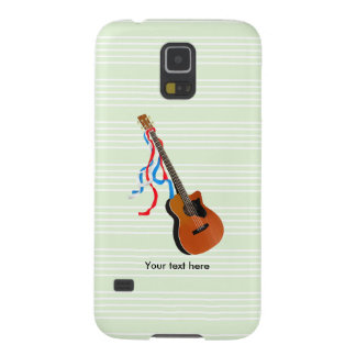 Acoustic Bass Guitar American Music Cases For Galaxy S5
