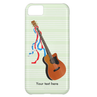Acoustic Bass Guitar American Music iPhone 5C Case
