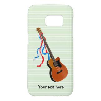 Acoustic Bass Guitar American Music Samsung Galaxy S7 Case