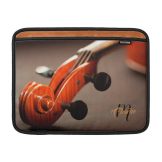 Acoustic Cello Monogram MacBook Air Sleeve